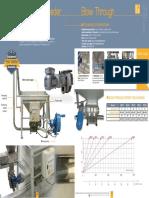 Dosing Solutions - Rotary Airlock Feeder Blow Through - Palamatic Process