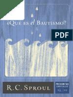 _Que Es El Bautismo_ (Spanish E - R.C. Sproul