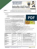Historia Del Perú - 1er Año - II Bimestre - 2014 - PARTE 1