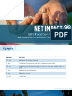 2019 Food Solutions Challenge -- PPT