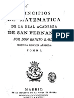 1778 Benito Bails Principios a