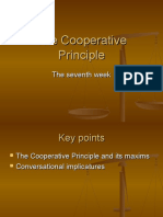 the co-operative principle by paul grice
