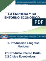 Día 3 Presentación 2 Producción e Ingreso Nacional