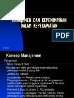Manajemen & Kepemimpinan (Seminar)