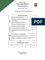 RUBRICA PARA CALIFICAR COMPORTAMIENTO.docx