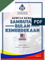 Paperwork Sambutan Merdeka 2017