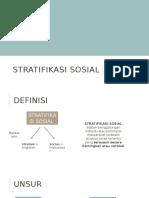 SOSIO-STRATIFIKASI