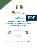 Relatorio Consulta Publica Percepcao Ambiental Parana Brasil 01 2017