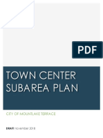 Mountlake Terrace Town Center SAP Draft