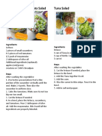 Philippine Salad Recipe