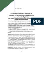 Factores Psicosociales Asoc Al Consumo de Sustancias