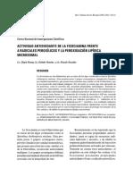 Actividad Antioxidante de La Ficocianina Frente a Radicales Peroxilicos y La Peroxidacion Lipidica Microsomal