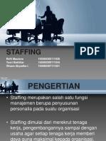 Fungsi Staffing
