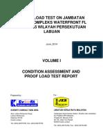 Proof Load Test on Jambatan Jalan Kompleks Waterfront Fl 745-000-45 Wilayah Persekutuan Labuan