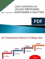 CSD for Transformer Back Charging