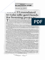 Business Mirror, Feb. 26, 2019, DHSUD mandated to take idle govt lands for housing projects.pdf