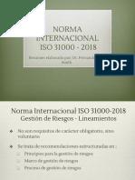 Resumen ISO 31000 Fvs