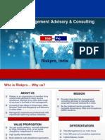 Riskpro India - Introduction Document
