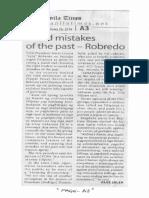 Manila Times, Feb. 26, 2019, Avoid mistakes of the pst - Robredo.pdf