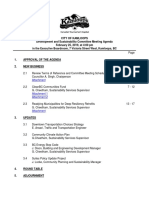 Development and Sustainability Committee - 25 Feb 2019 - Agenda - PDF