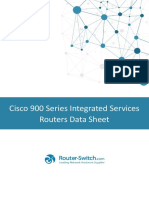 Cisco 900 Series Integrated Services Routers Datasheet