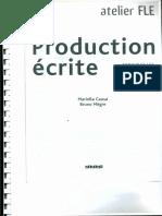 Production Ecrite Mariella Causa and Bruno Megre