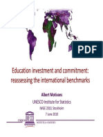 Education Investment Commitment