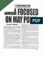 Peoples Journal, Feb. 26, 2019, SARA focused on May polls.pdf