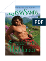 Lynsay Sands - Rendirse Al Highlander