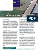 Facts About Turbidity and Dredging