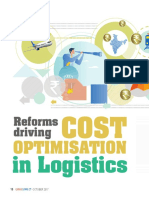 cost OPTIMIZATION IN LOGISTICS