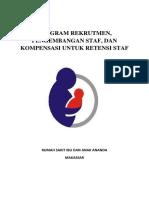 Program Rekrutmen, pengembangan staf, dan kompensasi untuk retensi staf.docx