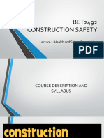 Lecture 1 Health and Safety Foundation