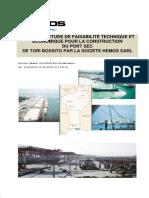 Rapport d'étude de faisabilité technique et économique pour la construction du port sec de TORI.pdf