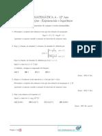 Exponenciais Logaritmos.pdf Imprimir