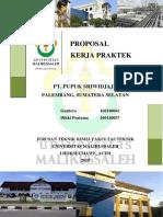 Proposal Kp Pusri