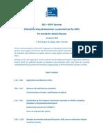SBS WIPO Seminar Programme