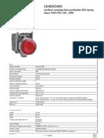 Schneider Electric XB4BW34M5 Datasheet