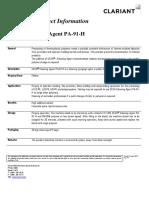 PA 91 H Purging Material