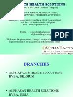 Alphafacts Presentation