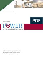 Power of Personal Achievment WorkBook