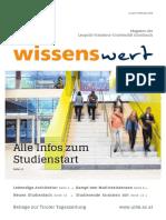 wissenswert Februar 2019 – Magazin der Leopold-Franzens-Universität Innsbruck