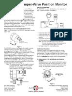 SG1000D Damper-Valve User Manual 990-002430 Rev C