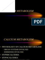 Calcium Metabolism Review on YOUR OWN