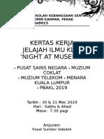 Lawatan Sambil Belajar KL 2019