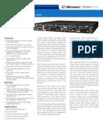 Microsemi TP5000 Datasheet RevJ