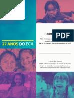 MINISTÉRIO Público do Estado do Paraná (Paraná). 27 Anos do ECA. Sup. Luciana Linero. Curitiba, CAOPCAE-MPPR, 2018.pdf