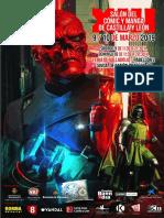 Programa Salón del  Cómic y Manga 2019