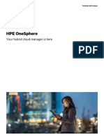 HPE OneSphere - Your Hybrid Cloud is Here - Technical White Paper