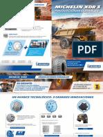 Michelin XDR3 Espanhol Brochure